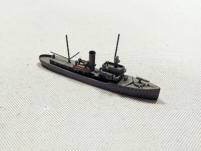 Helge Fischer German Fisheries Protection Ship Weser 1/1250 Scale Model Ship