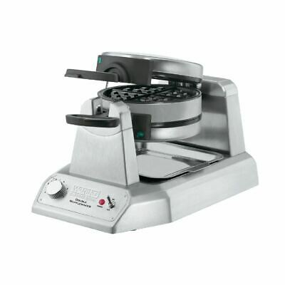 Waring Double Electric Waffle Maker WW200K Stainless Steel Kitchen Bakeware