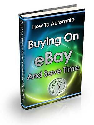 How to automate buying on eBay and save time with eBay Search Alerts