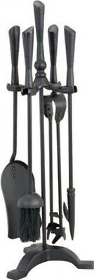 Manor Reproductions Style Companion Set - Black - 610mm