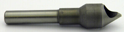 """7/16"""" 60°Degree 0 Flute Single End Cobalt Countersink,radial relieved Melin USA"""
