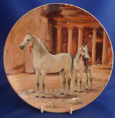 Spode Noble Horse Collector Plate - Arabian