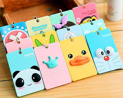 Novelty Animal Office School Key Rings and Key Smart Card Holder Luggage Card