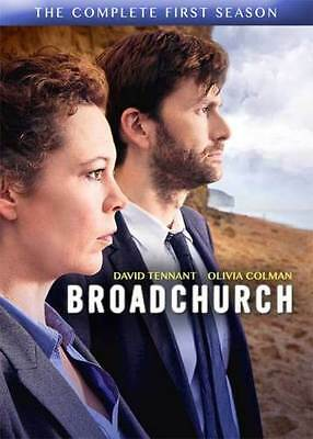 Broadchurch: The Complete First Season (DVD, 2014, 3-Disc Set)