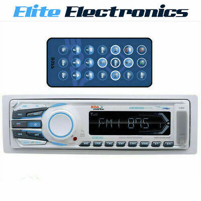 Boss Audio Mr1308Uab Bluetooth Mechless Marine Usb Mp3 Sd Aux Player Receiver