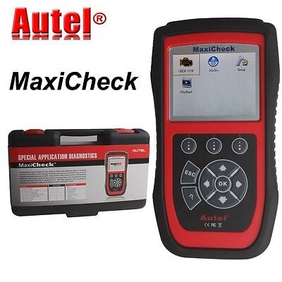 100% Genuine Autel MaxiCheck Airbag/ABS SRS Light Service Reset Tool OBDII