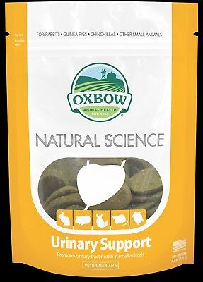 Oxbow Natural Science Urinary Support for Small Animals - 60 hay tablets