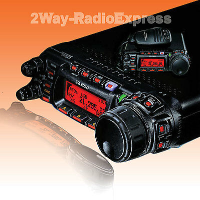 YAESU FT-857D All-Mode Tranceiver, with FREE YSK-857 KIT, UNBLOCKED TX & RX!