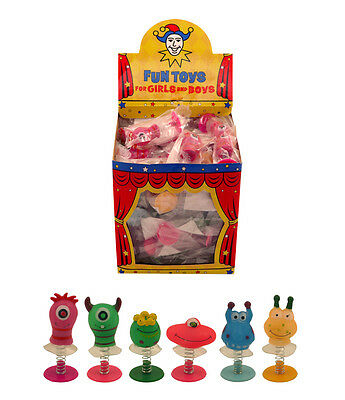 10x Assorted Jump Pop Up Monster Alien Boys Toys Childrens Party Bag Fillers UK