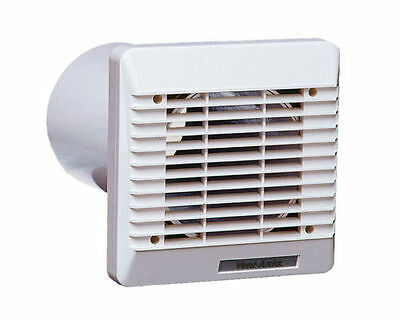 Vent Axia 254102 Wall Duct & Grille Vent Kit 100mm / 4 Inch (White)