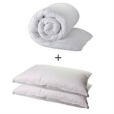 King Size  Duvet Quilt And 2 Pillows - King 10.5 Tog Quality Quilt And 2 Pillows