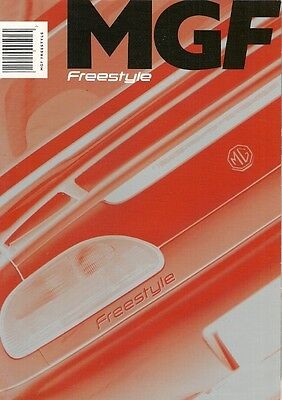 MGF Freestyle 1.8 & VVC Limited Edition 2001 UK Market Sales Brochure