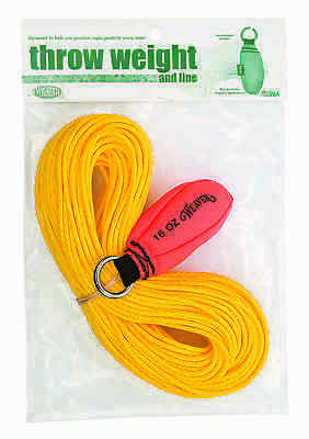 Weaver Leather 16 oz. Arborist Throw Weight with 150' Line Kit