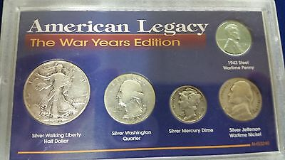 American Legacy The War Years Edition 5 Coin Set