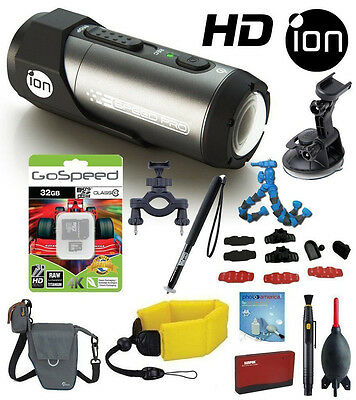 iON Speed Pro 14MP 1080p Full HD WIFI Waterproof Action  Automotive and Bike Kit