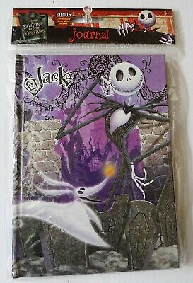 Disney -The Nightmare Before Christmas- Jack Skellington Journal Diary Notebook