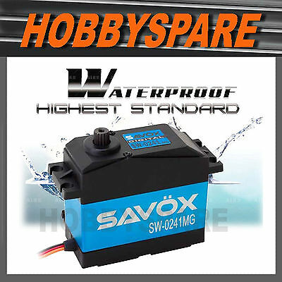 SAVOX 1/5 DIGITAL WATERPROOF 40kg SUPER TORQUE SERVO 7.4v SW-0241MG BAJA MT HPI