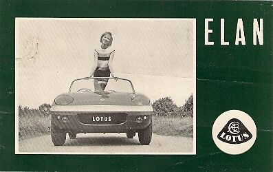 Lotus Elan 1600 1963-64 UK Market Foldout Sales Brochure
