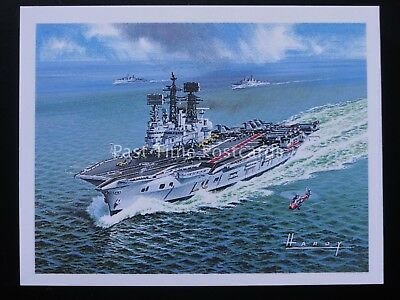 No.25 HMS ARK ROYAL -  Britains Maritime History - Player/Tom Thumb 1989