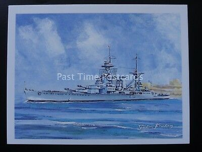 No.19 HMS HOOD -  Britains Maritime History - Player/Tom Thumb 1989