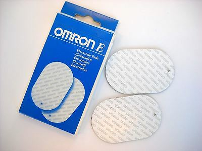 Omron Replacement Electrode Pads for Electronic Nerve Stimulators (TENS) 2 Pack