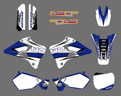 Team Graphics&backgrounds Decals Stickers For Yamaha Yz125 Yz250 1996 1997 98 99