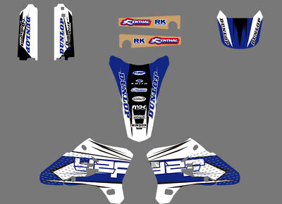Decals Graphics Backgrounds For Yamaha Yz250F Yz450F Yzf250 Yzf450 2003 04 2005