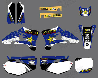 Decals Graphics Backgrounds For Yamaha Yz250F Yz450F Yzf250 Yzf450 2003 2004 05