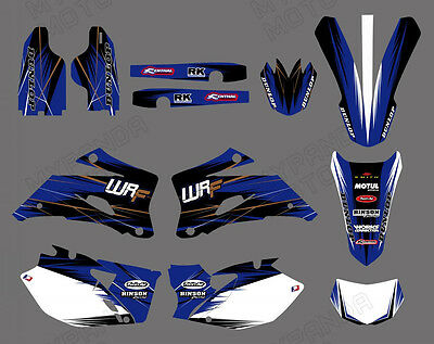 Graphics Backgrounds For Yamaha Wr250F Wr450F Wrf 250 450 2007 08 09 10 11