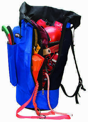 Weaver Leather All Purpose Arborist Gear Bag with Padded Shoulder Straps - Blue
