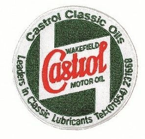Castrol Classic Embroidered Sponsors Sew-On Badge
