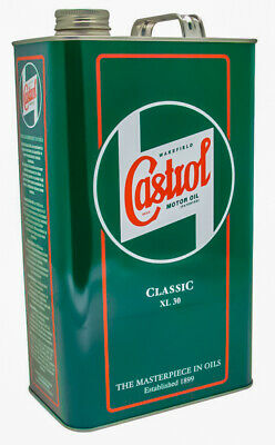 Castrol Classic XL30 Monograde SAE30 Classic Engine Oil 4.54 Litres /1 Gallon