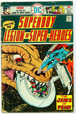 ♥♥♥♥ SUPERBOY STARRING THE LEGION OF SUPER-HEROES • Issue 213 • DC Comics