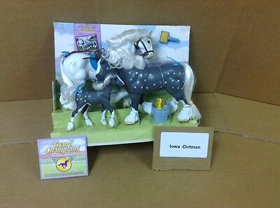Grand Champions Clydesdale Family Gray 51001 Opened No Box