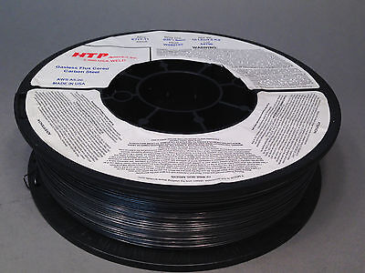 "2 10lb .035"" HTP Flux Cored E71T-11 Gasless Steel Mig Wire core Made in USA"