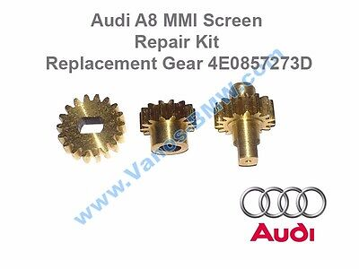 Audi A8 MMI Screen Repair Kit Replacement Gear 4E0857273D