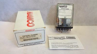 New In Box Namco Ee550-34000 Plug-In Relay Pak 115Vac