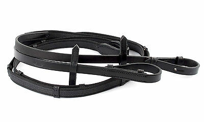 Heritage English Leather Super Grip Reins BLACK or BROWN 130 +Worldwide Shipping