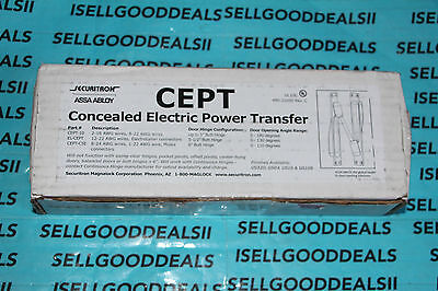 Securitron EL-CEPT Concealed Electric Power Transfer US32D ELCEPT New