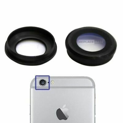 For iPhone 6 6s Plus Replacement Sapphire Camera Lens Cover Black Cover Glass