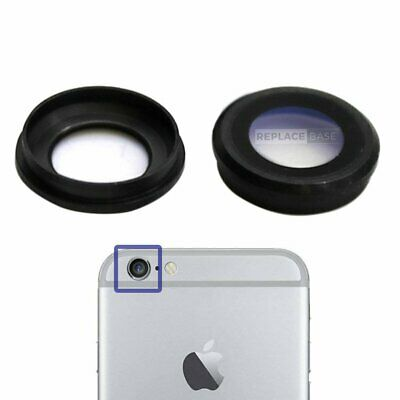 For iPhone 6 6s Replacement Sapphire Camera Lens Cover Black Grey Glass OEM