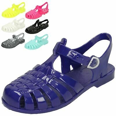 **SALE** Girls Spot On Jelly Sandals UK Sizes Inf 4- Jnr 3 H2309