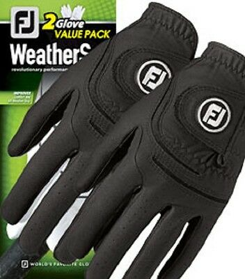 ** Clearance** 2014 Footjoy LADIES Weathersof Golf Gloves Twin Pack