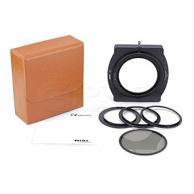 "NiSi C4 Cinema Filter Holder with Integrated CPL for 4x4"" Cinema Filter UK"