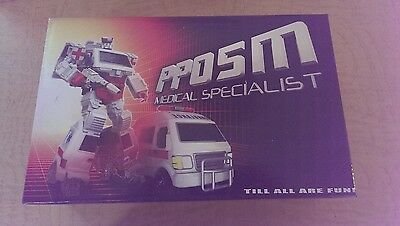 Transformers Masterpiece iGear PPOSM Ratchet/First Aid MEDICAL Specialist