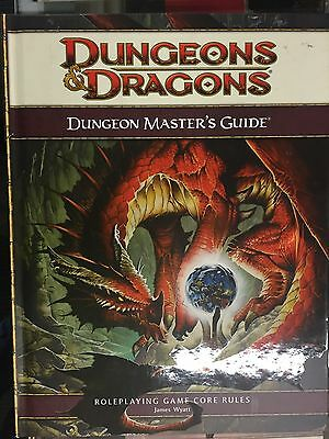 4th Edition D&D Book Dungeon Masters Guide