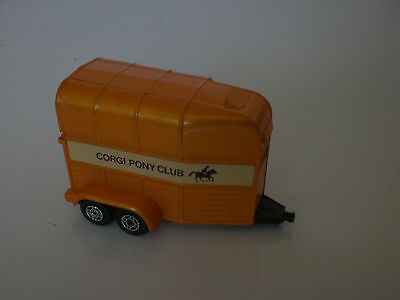 CORGI /RICE BEAUFORT DOUBLE HORSE BOX,GOOD CONDITION,See Pictures.