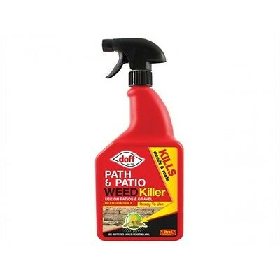 Doff Path & Patio weedkiller for complete weed destruction to the roots
