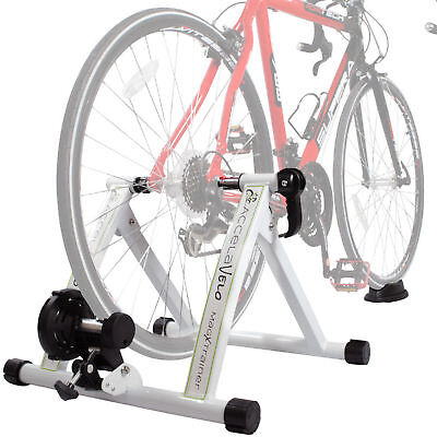 NEW Portable Indoor Exercise Magnetic Resistance Bicycle Trainer Stand Bike
