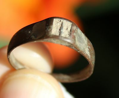 Bronze medieval ring, from Pakistan, size 9 • CAD $124.74
